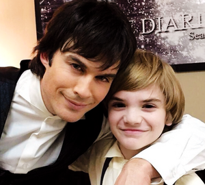 Ian Somerhalder and Sawyer glocke