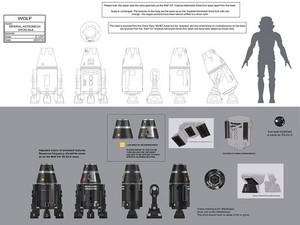 Imperial Astromech Concept art