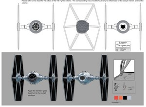 Imperial Tie Fighter Concept Art