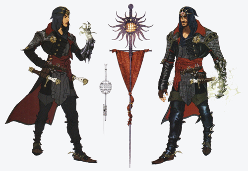 Blackwall Dragon Age Concept Art