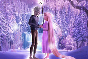 Jack frost and Rapunzel for Angeelous