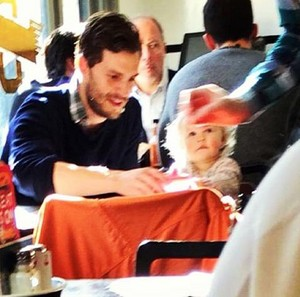 Jamie with his daughter