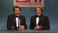 Jason Sudeikis as Pete Twinkle and Will Forte as Greg Stink in Saturday Night Live