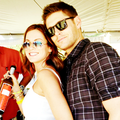 Jensen and Danneel Harris  - jensen-ackles photo