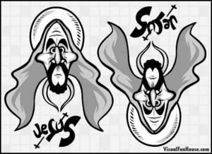 예수님 and Satan