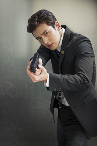 Ji Chang Wook Обои with a business suit titled Ji Chang Wook