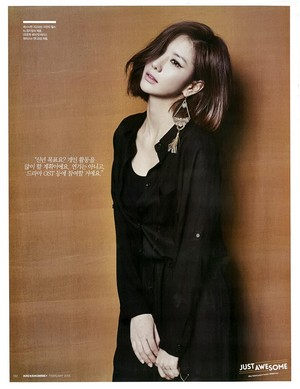 Jungah - Arena Homme February 2015 Scans