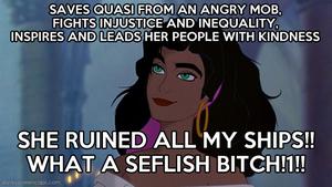 Justice to Esmeralda!