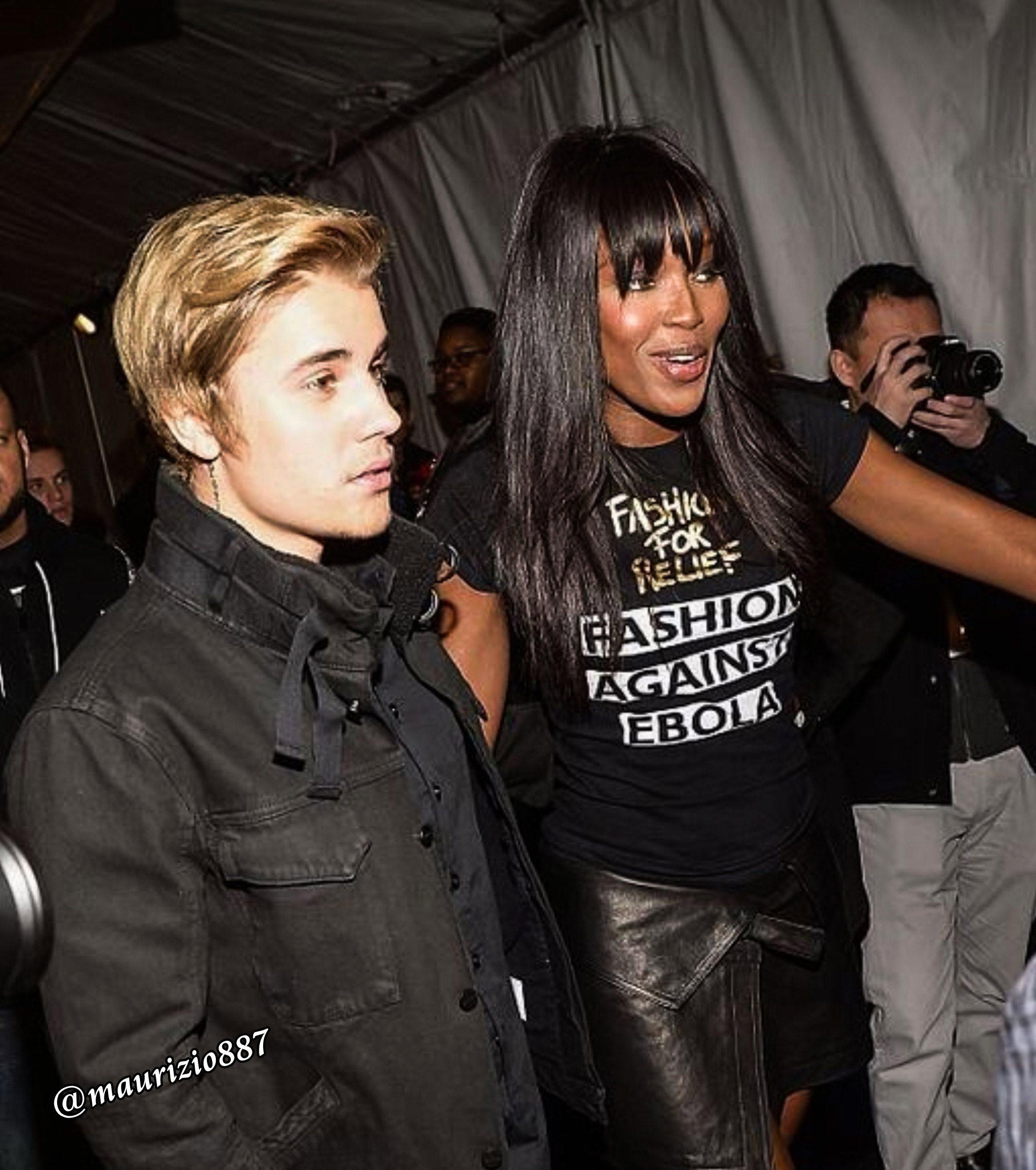 Justin Bieber Naomi Campbell,2015