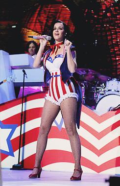 Katy performing at The Kids' Inaugural संगीत कार्यक्रम - 01.19.2013