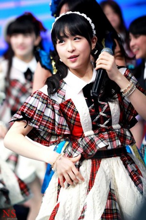 Kawamoto Saya akb48 x JKT48 show, concerto 2015