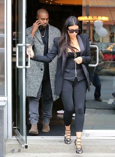 Kim Kardashian wallpaper containing a business suit called Kim Fan Art
