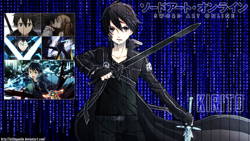 sword art online wallpaper titled Kirito Kazuto