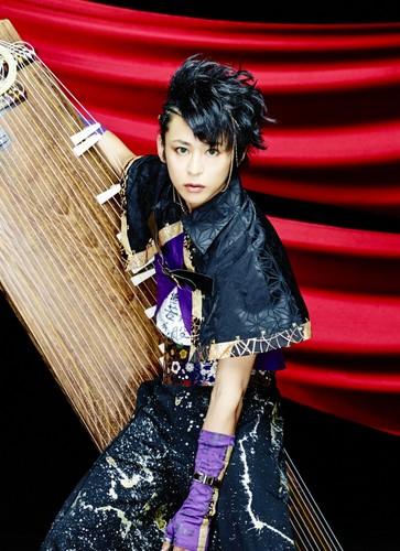 Wagakki Band achtergrond called Kiyoshi Ibukuro