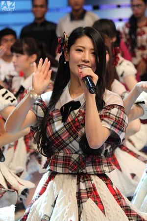 Kuramochi Asuka AKB48 x JKT48 コンサート 2015