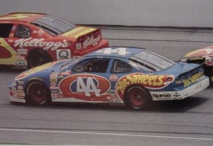 Kyle Petty's race car 1997-2000