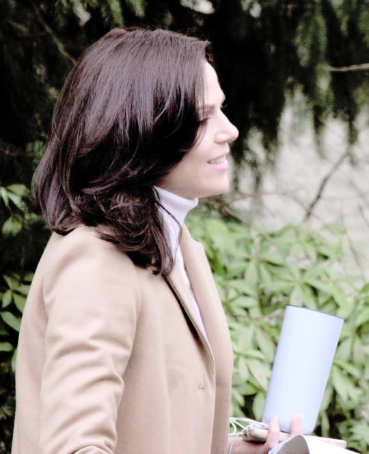 Lana On Set February 11th