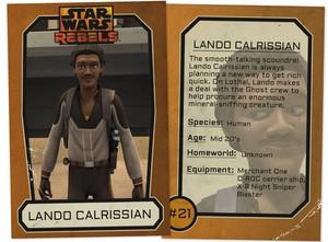 Lando Calrissian Trading Card