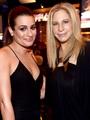 Lea Michele and Babra Streisand - lea-michele photo