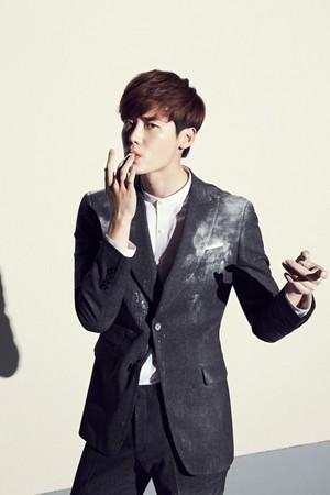 Lee Jong Suk for 'MVIO' S/S 2015 Campaign