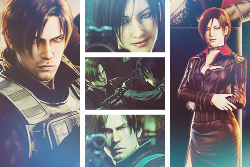 Leon Kennedy wallpaper probably containing a sign, a stained glass window, and a revolving door titled Leon Kennedy*_*Resident Evil Damnation