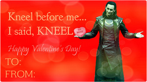 Loki Laufeyson Valentine
