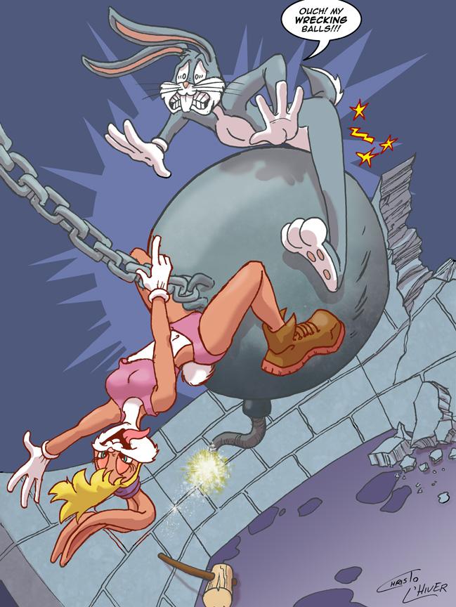 Lola Bunny as Miley Cyrus