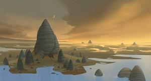 Lothal Jedi Temple Concept Art