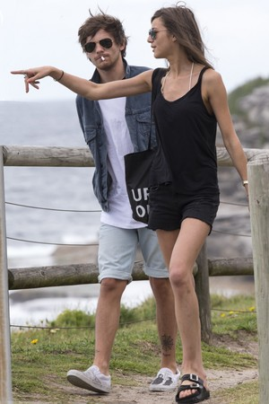 Louis and Eleanor at Bondi ビーチ