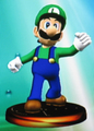 Luigi Trophy (Melee) - luigi photo