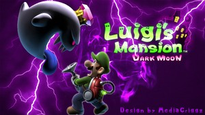 Luigi's Mansion Dark Moon Wallpaper