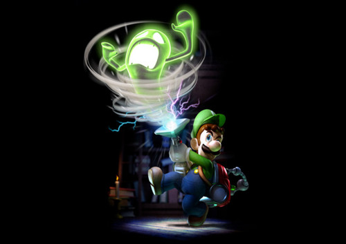 Luigi Wallpaper Called Luigis Mansion Dark Moon