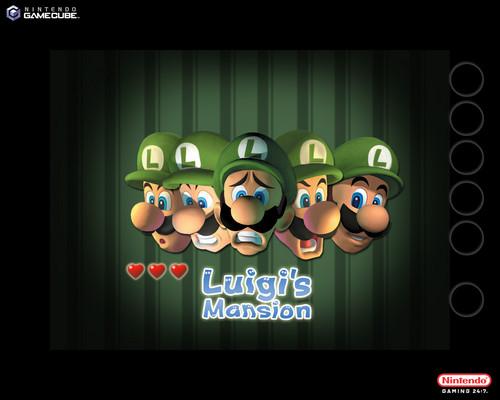 Luigi wallpaper called Luigi's Mansion Wallpaper