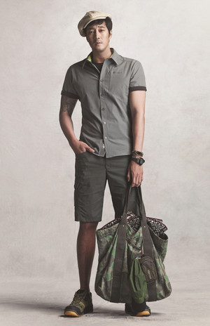 marmot کی, مآرموٹ S/S 2015 Ads Feat. So Ji Sub