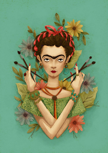 celebridades que murieron jóvenes fondo de pantalla entitled Magdalena Carmen Frida Kahlo Calderon (1907 -1954)