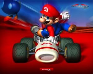 Mario Kart DS wallpaper