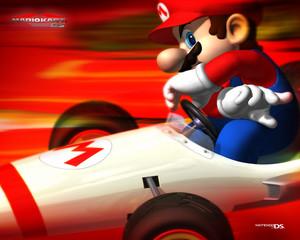 Mario Kart DS वॉलपेपर