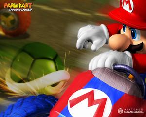 Mario Kart Double Dash वॉलपेपर