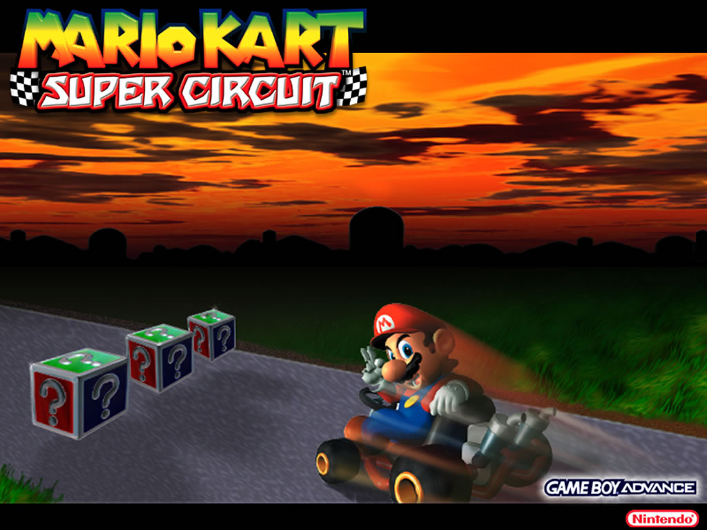 Mario Bilder Mario Kart Super Circuit Hintergrund Hd Hintergrund And