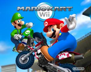 Mario Kart Wii Обои