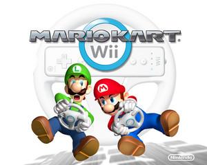 Mario Kart Wii karatasi la kupamba ukuta