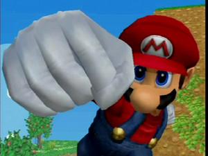Mario SSBM screenshot