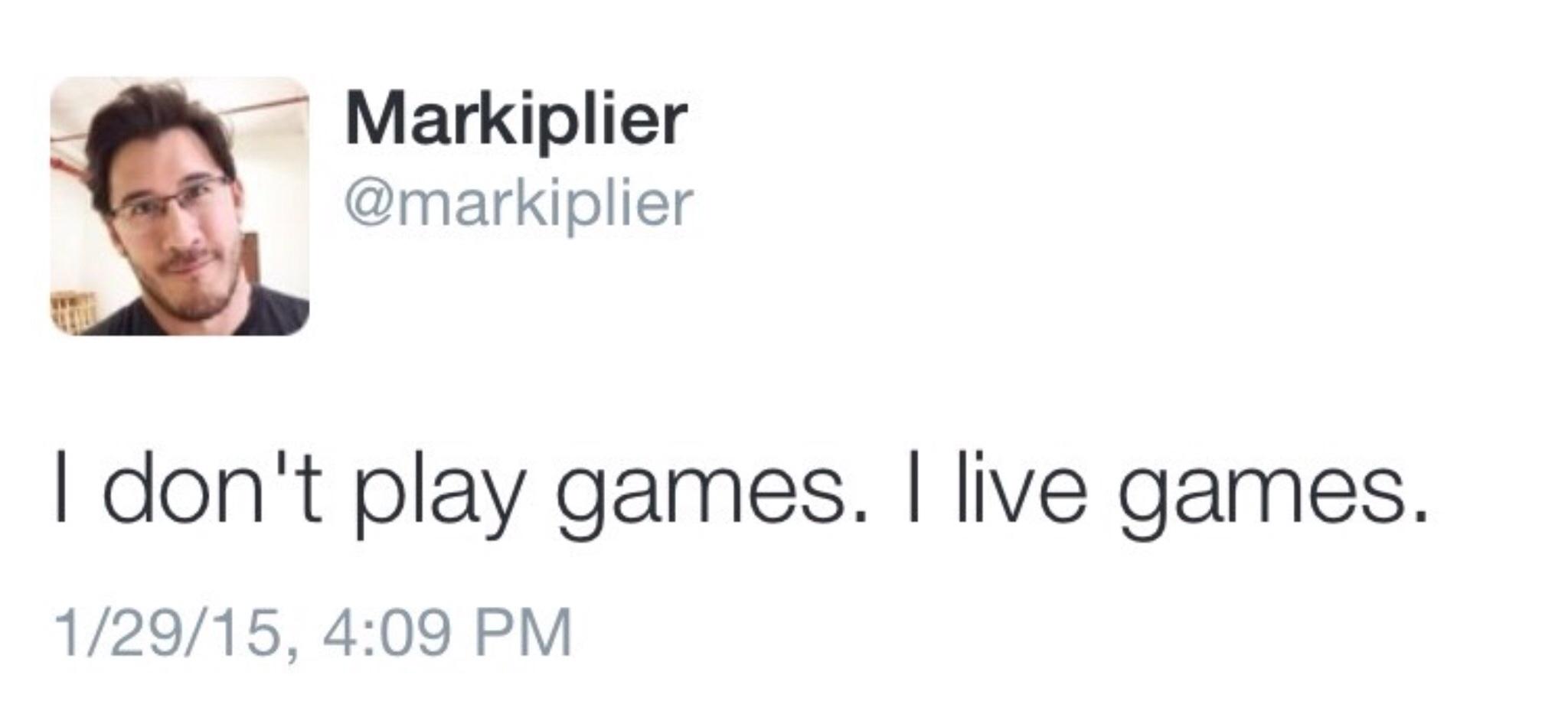 Markiplier - Twitter