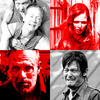Merle, Daryl, Carol and Sophia