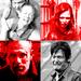 Merle, Daryl, Carol and Sophia
