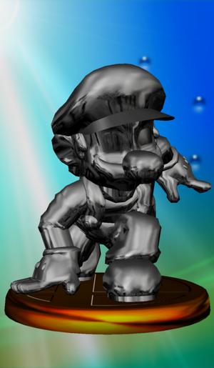 Metal Mario Trophy (Melee)