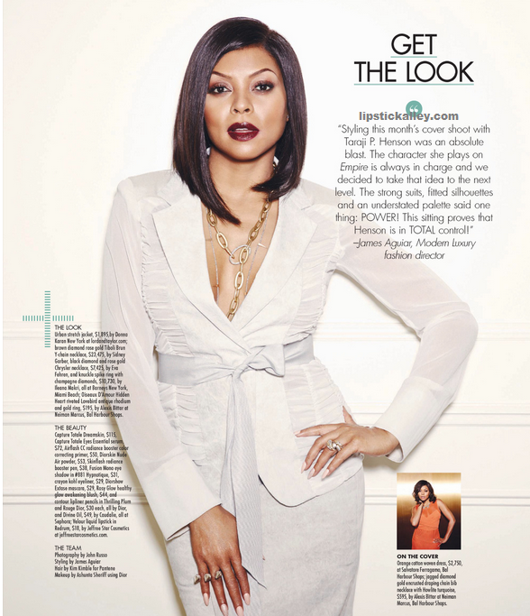 magazine cover taraji henson Ebony