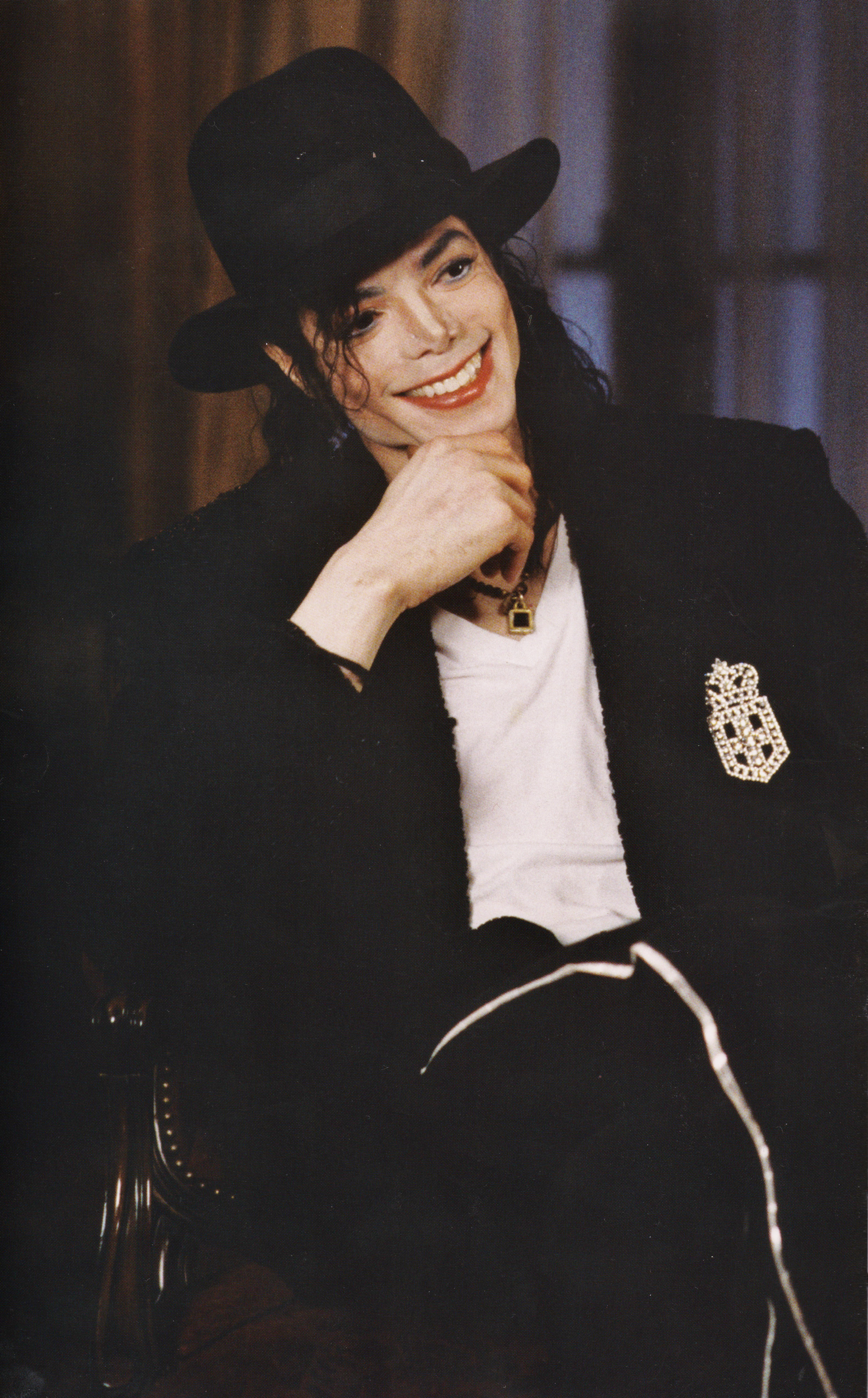 Michael Jackson - HQ Scan - Barbara Walters Interview ' 97