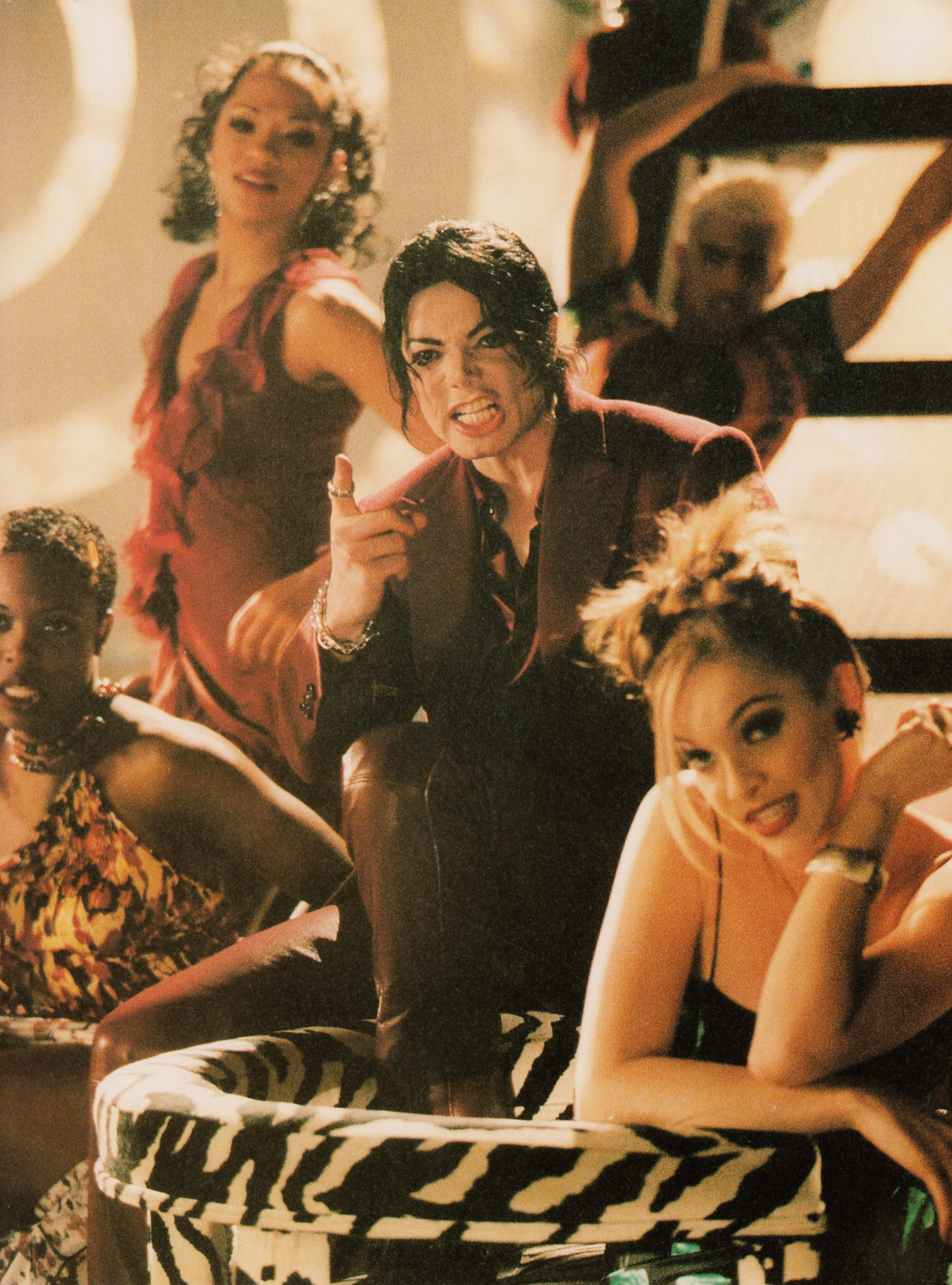 Michael Jackson - HQ Scan - Blood on the dancefloor Short Film