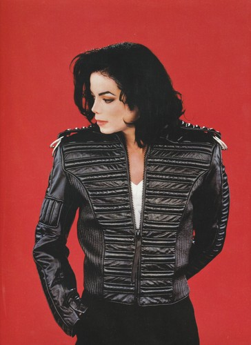 Michael Jackson wallpaper probably containing a well dressed person, a hip boot, and an outerwear entitled Michael Jackson - HQ Scan - Dangerous Era Photoshoot